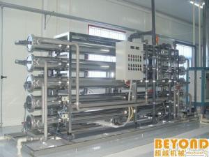 China Installation de traitement de l'eau pure de RO, systèmes de traitement automatiques d'eau potable on sale