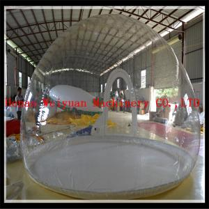 China Xmas decoration with antique advertising inflatable christmas human snow globe on sale