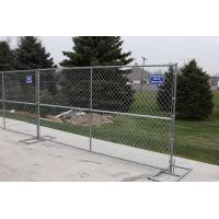 China Chain Link Type Temporary Wire Mesh Mobile Fences for Security on sale
