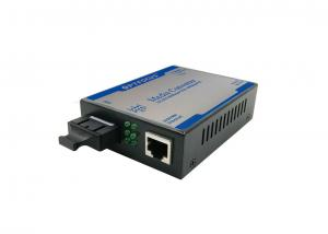 China Unmanaged Fiber Optic To Rj45 Media Converter With 1000M SC Dual Fiber on sale