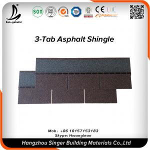 China Architectural Laminated Asphalt Roofing Shingle For Slope Roofing Material Used on sale