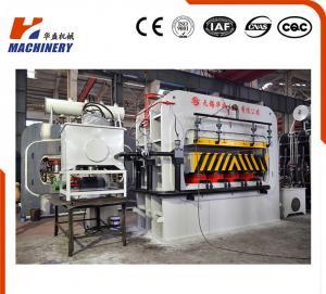 China High Effciency Automatic Furniture Lamination Machine Hydraulic Single Venner Hot Press on sale