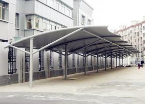 Double Side Tensile Car Parking Structure Fabric Tent For Outdoor