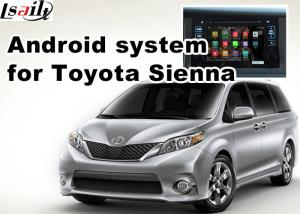 China GPS Car Video Interface Rear View WiFi Video Mirror Link Cast Screen TOYOTA Sienna on sale