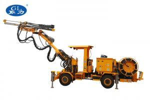 China Trailer Type Mining Rock Drill Geological Coal Mining Hydraulic Dth Drill Rig on sale