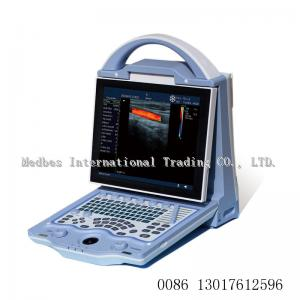 China two probe holders Portable 2D Color doppler ltrasound Scanner  human  ultrasound machine on sale