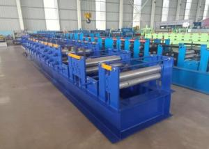 China 80-300mm C Purlin Roll Forming Machine Roller Diameter 80mm For Building Frame on sale