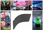 High Definition Soft P2.5 Flexible LED Display Video Screens Ring shape Crown