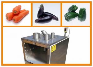 China Economic Small Food Machine For Cutting Potato / Pumpkin 1000kg/H Output on sale
