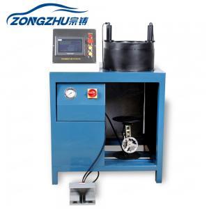 China High Pressure Hydraulic Hose Crimping Machine Air Suspension 450V 220V 380V on sale