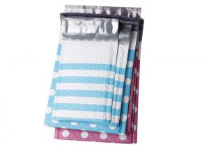 Quality Dotted And Stripe Colorful Poly Bubble Envelope Small Bubble Mailers 4x8 and 6x10 for sale