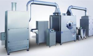 China 1200mm Coating Pan Film Coated Tablet Coaing Machine 40kg Per Batch GMP Standard on sale