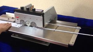 China Aluminium PCB Cutting Machine For LED Strip With Six Circular Blades on sale