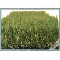 China Environmentally Beautiful Natural Artificial Garden Grass With Natural Looking on sale
