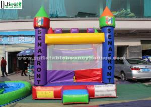 China Backyard Kids Inflatable Jumping Castles With Custom Made Logo on sale