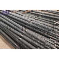China Carbon Stainless Steel Solid Fin Tube Boiler , Cooling Fins For Pipe Spiral Finned Tube on sale