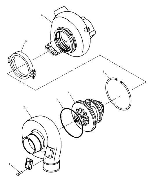 C6 4 Engine Turbocharger 287 0049 Applied To Caterpillar 320d 321d