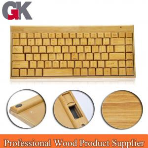 China Hottest Wireless wood keyboard and mouse on sale