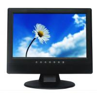 10-inch POS Display with 800 x 600 Pixels, BNC/VGA/RCA Optional, 250cd/m² PAL and NTSC