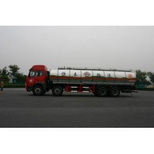 China Chemical Liquid Tank Truck High Performance 24700L 8x4 Fuel Storage on sale