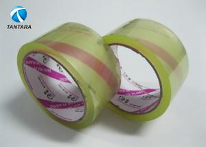 China Super Clear Crystal Bopp Packing Tape with custom LOGO Printing on sale