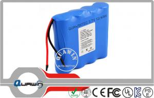 China 3.7v 12400 Mah 18650 Lithium Battery Packs , Medical Equipment Rechargeable Lithium Batteries on sale