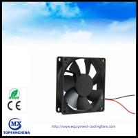 3D Printer 12V DC Axial Fan , CPU PWM Signal Cooling Fan 80mm x 80mm x 25mm