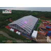 China Transparent PVC Material  Outdoor Party Tents For 1500 People Concerts on sale