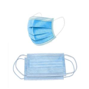 China Melt Blown Cotton 3 Ply Disposable Face Mask Medical Respirator Mask on sale