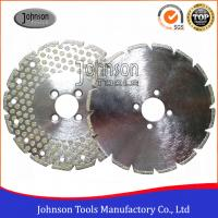 China Original 8 Inch Diamond Saw Blade For Cutting Marble or Granite Single Side Dots on sale