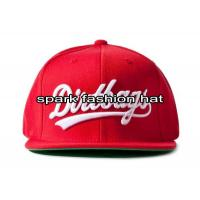 China China red embroidered snapback hats supplier on sale