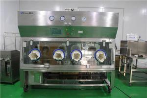 China 60db Vhp Sterilization Dispensing Single Side Positive Pressure Isolator on sale