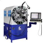 China Spring Wire Diameter 0.3 - 2.5mm Twelve Axes Cam-Less CNC Spring Forming Machine wholesale