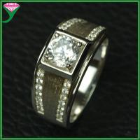 wholesale price 925 silver china jewelry white cz diamond ring