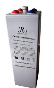 China 2V 1200 OPzS Tubular Battery For Medical Equipment , Flooded Lead Acid Battery on sale
