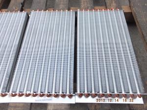 China radiateur en aluminium de haute qualité de tube de cuivre d'aileron pour le cooling&amp ; chauffage on sale