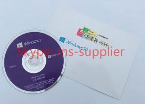 China Brand New Win 10 Pro OEM Genuine License Key DVD / USB With Korean Language on sale