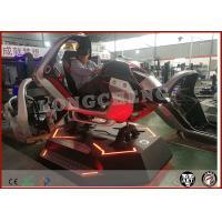 Cool Electric Car Racing Game Machine 9D VR Simulator Virtual Reality Simulator