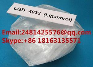 China 99% Assay LGD4033 SARMs Anabolic Steroids Powder LGD 4033 CAS 1165910-22-4 on sale