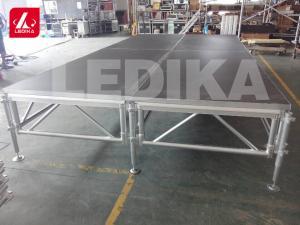 China High Denify Panel Aluminum Stage Platform / Wedding Portable Stage Truss on sale