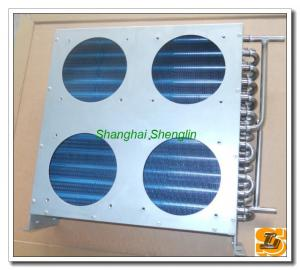 China Louver Fin Stainless Steel Condensers , Industry Air Conditioning on sale