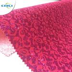 Leather Factory Supplier Pu Glitter Leather fabric For wallpaper