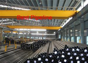China ASME B36 Stainless Steel Seamless Pipe 13MnNi6-3/1.6217Plastic Caps End Protector on sale