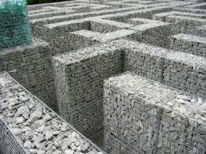 China PVC gabion mattress on sale