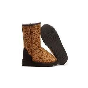China UGG 5825 Women's Classic Short Leopard Boots on sale