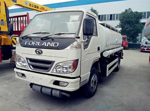 China Forland 5cbm Oil Dispenser Tank Truck, 4*2 Petrol/Diesel Refueling truck on sale