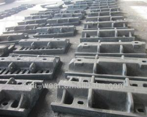 Quality Ni-hard Cast Iron Sag Mill Liners , Heat Resistant Aluminum Sand Castings HRC53 for sale