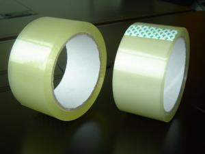 China Water Based Acrylic Adhesive bopp / opp printed tape on sale