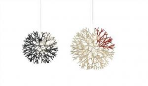 China Craft Coral Pendant Lighting Modern suspension Light popular for hotel project on sale