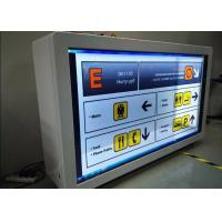 High Definition Transparent LCD Showcase Customized Scratch Proof For Advertising